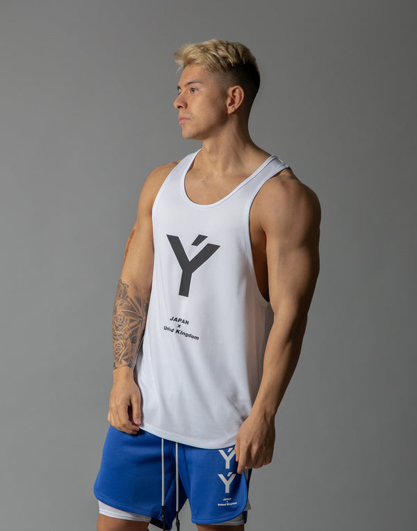 Ý Mesh Training Tanktop - White