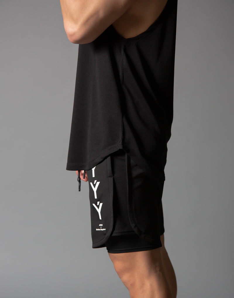 Ý Mesh Training Tanktop - Black
