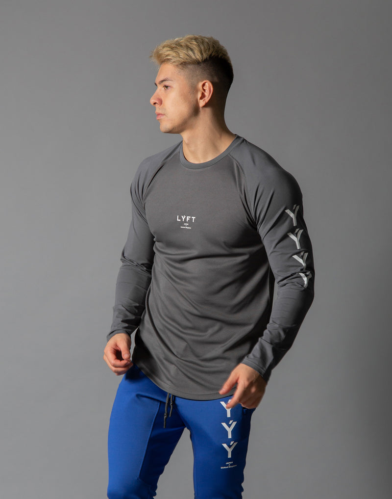 ÝÝÝÝ Combi Mesh Training Long sleeve - Grey