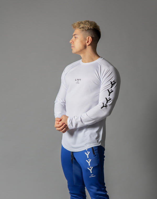 ÝÝÝÝ Combi Mesh Training Long sleeve - White