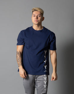ÝÝÝÝ Big Size T-Shirt - Navy