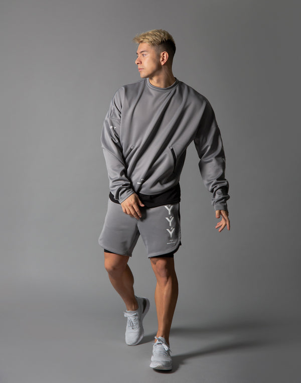 LÝFT Strong Shorts with leggings - Grey