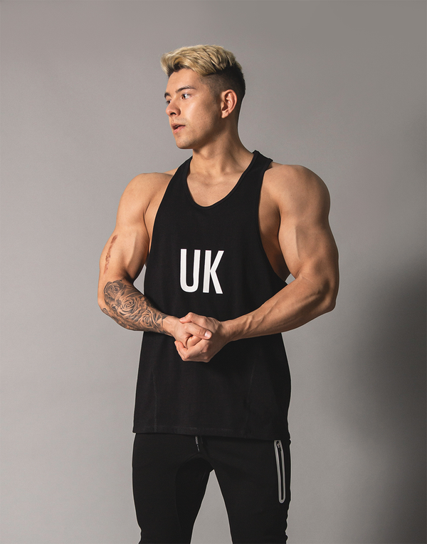 UK x JP Training Tanktop - Black
