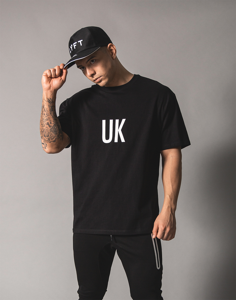 UK x JP Big T-shirt - Black