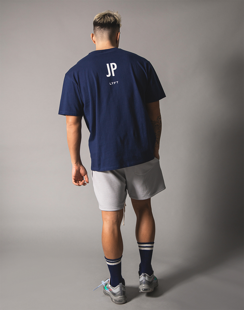 UK x JP Big T-shirt - Navy