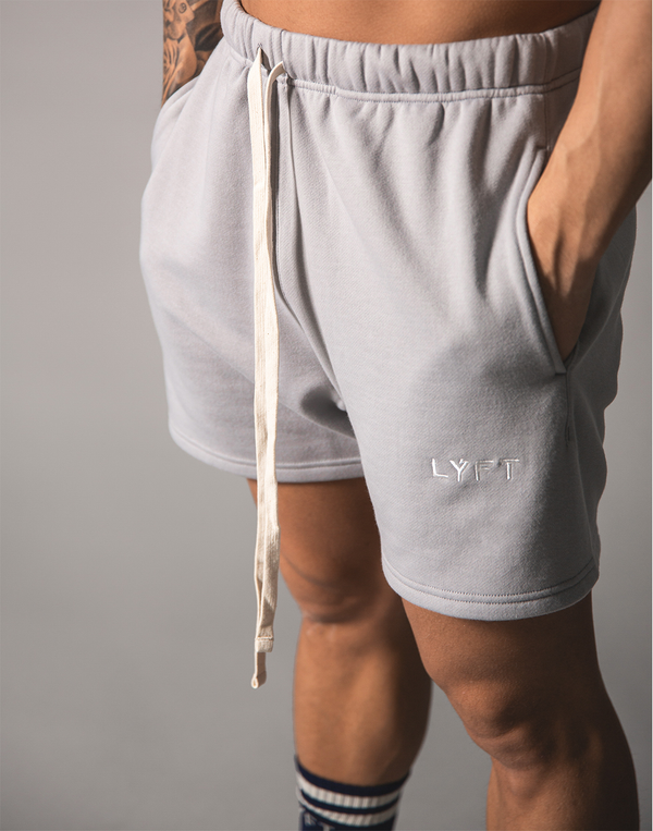 LÝFT Logo Sweat Shorts - Grey