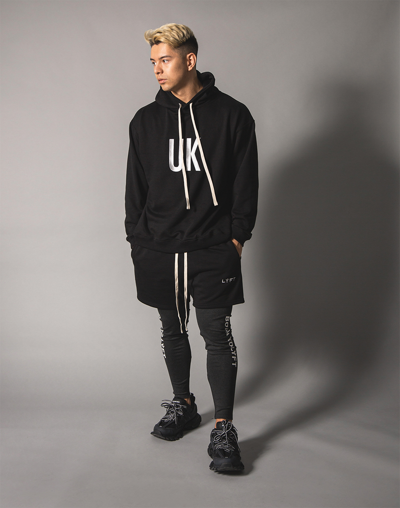 UK x JP Sweat Pullover - Black