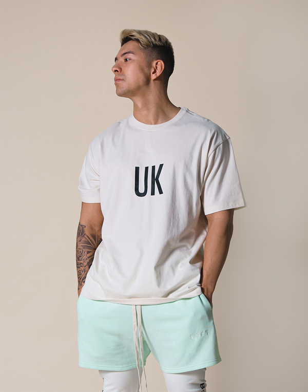 UK x JP Big T-shirt - Off White