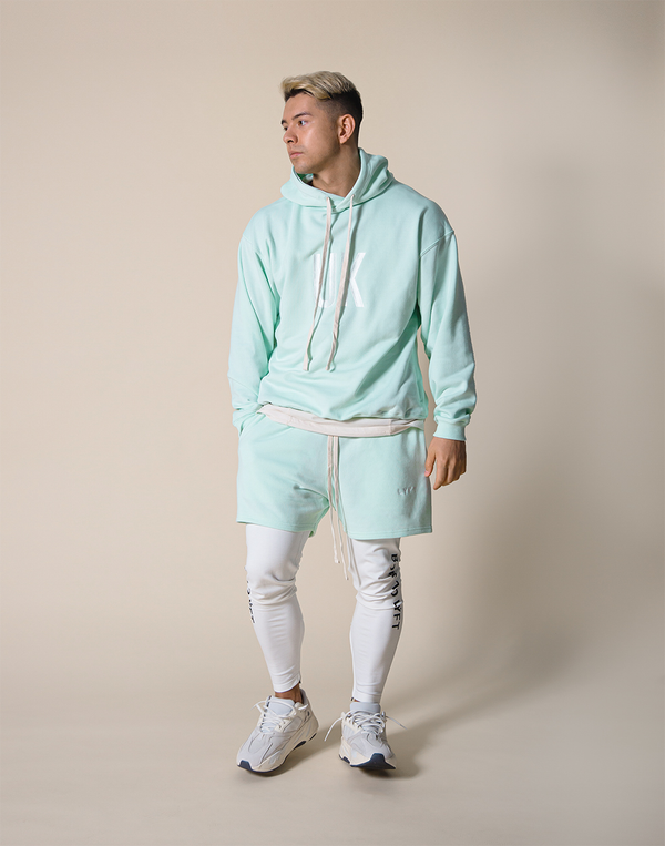 UK x JP Pullover - Mint Green