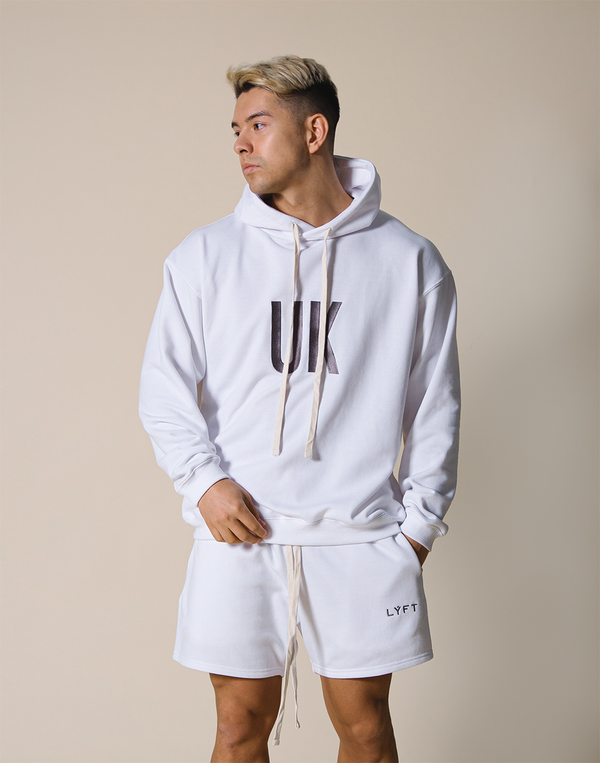 UK x JP Sweat Pullover - White