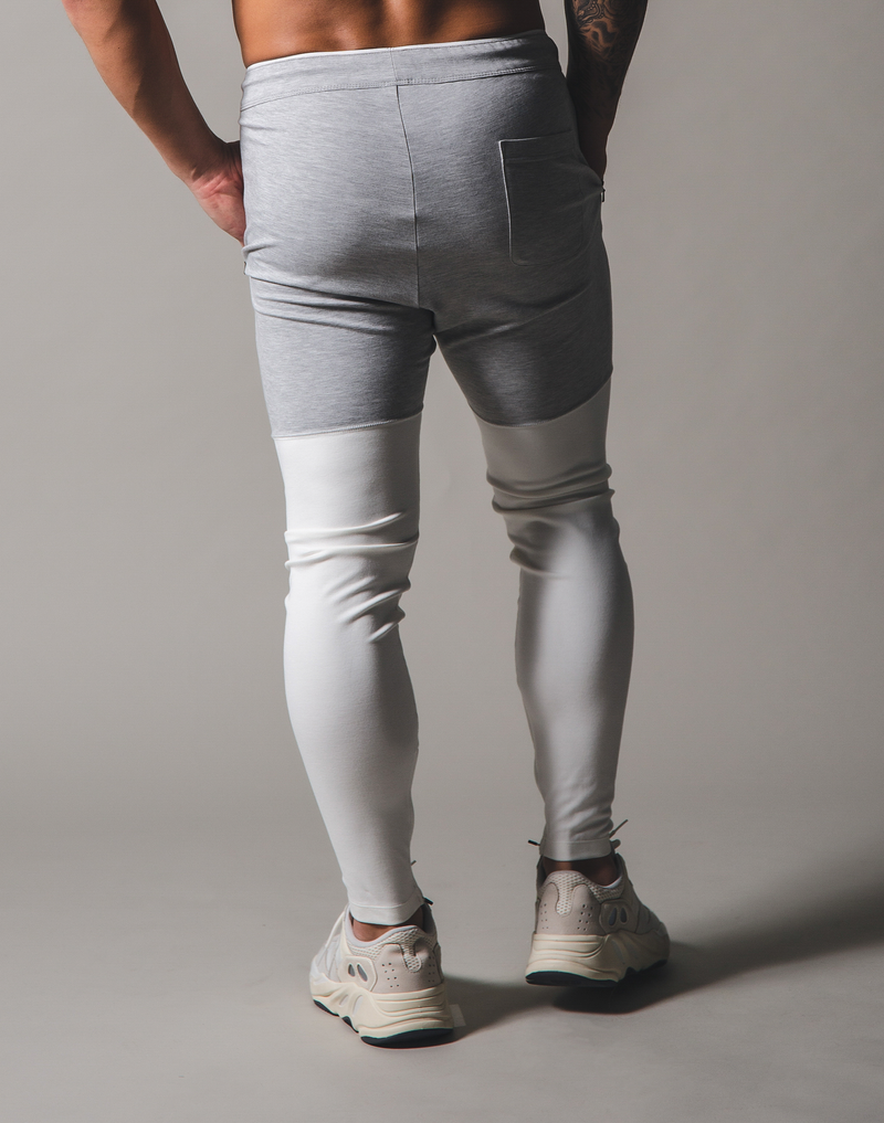 BORN TO LÝFT 2way combination Pants - Off white