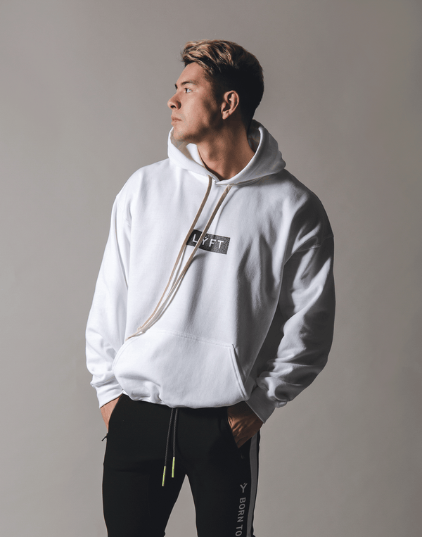 LÝFT Flag Sweat Pullover 2020 - White