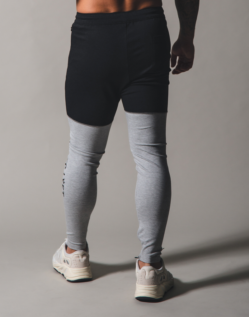 BORN TO LÝFT 2way combination Pants - Grey