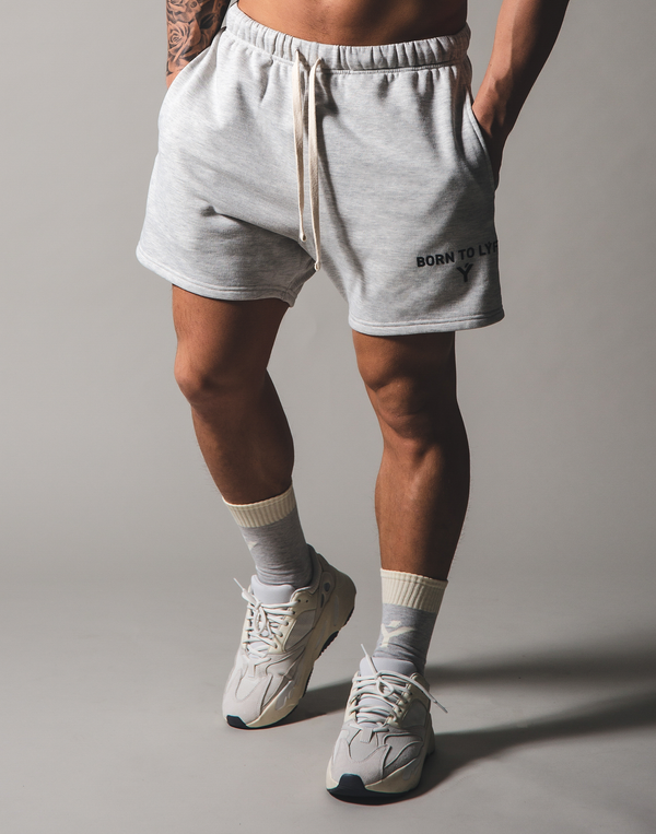 BORN TO LÝFT Sweat shorts - Grey