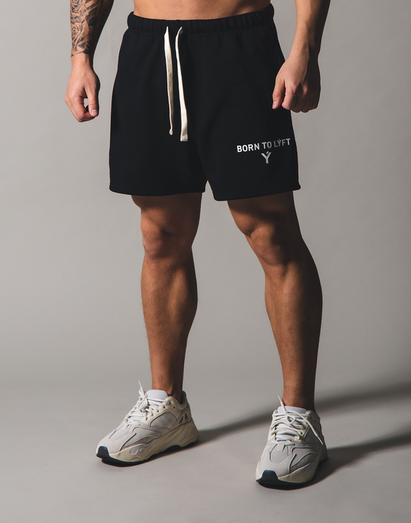 BORN TO LÝFT Sweat shorts - Black