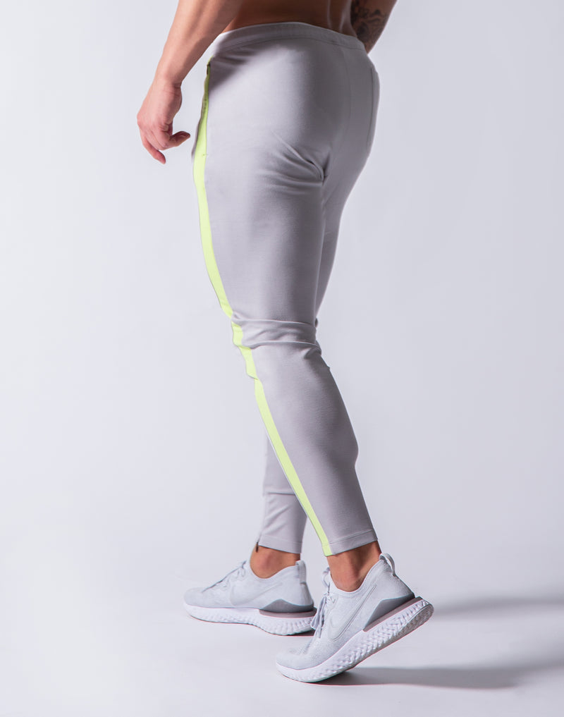 One Line Long Pants - Grey