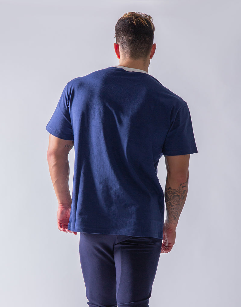 Box Big T-Shirt - Navy
