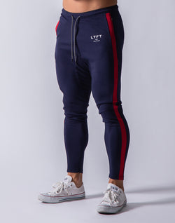 One Line Long Pants - Navy