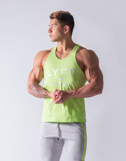 Basic Fit Tanktop - Yellow