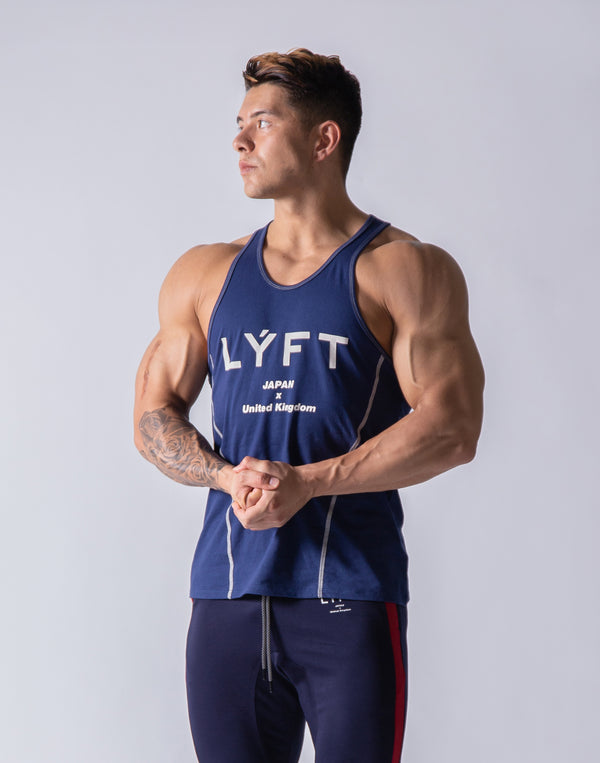 Basic Fit Tanktop - Navy