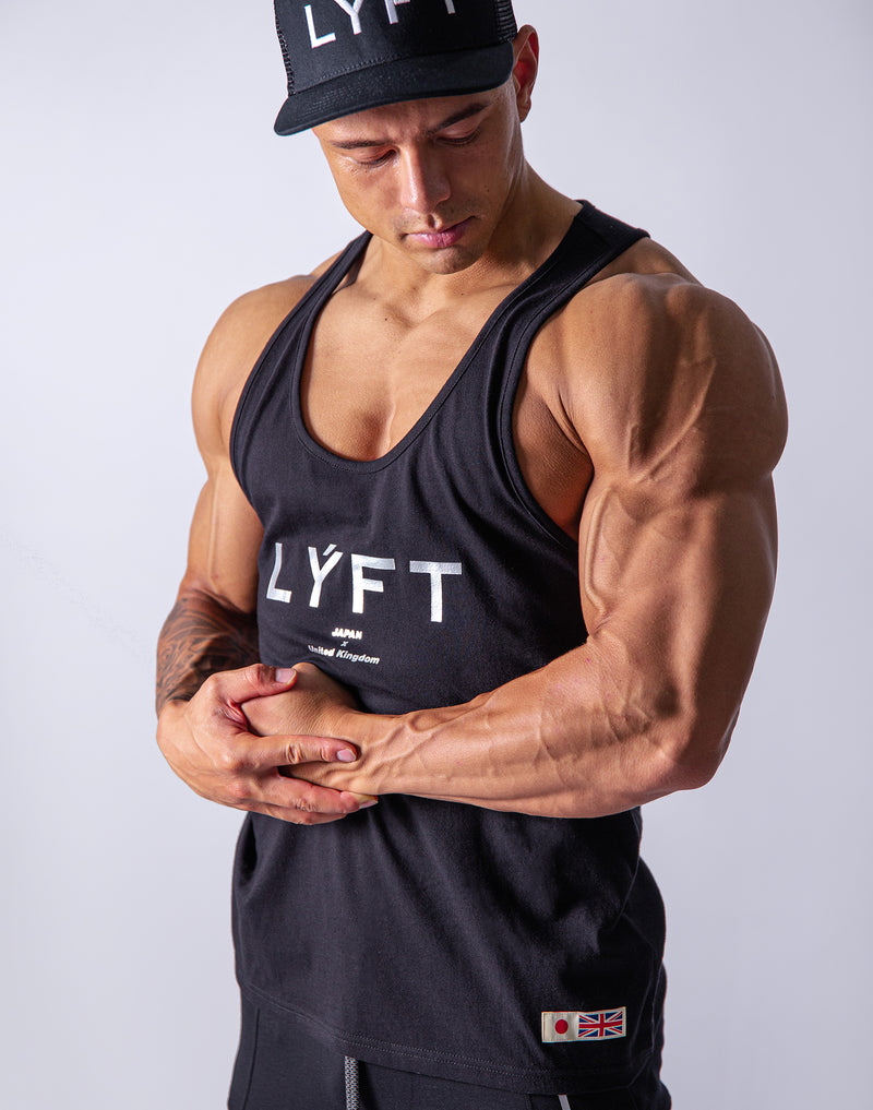 LÝFT Loose Tanktop - Black