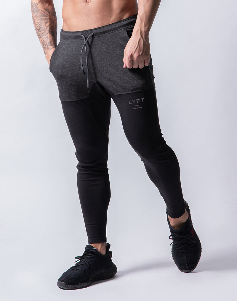 LÝFT 2way combination Pants -  Black