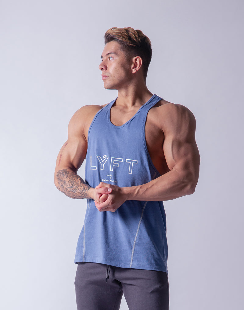 LÝFT Training Tanktop 2 - L.Blue