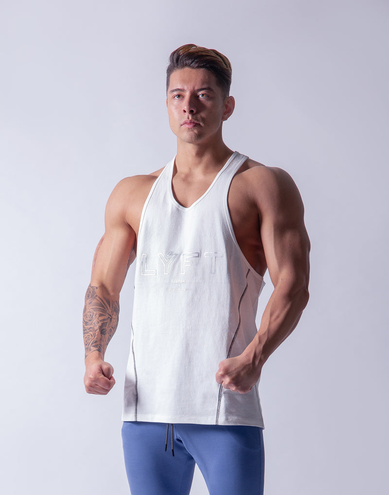 LÝFT Training Tanktop 2 - White
