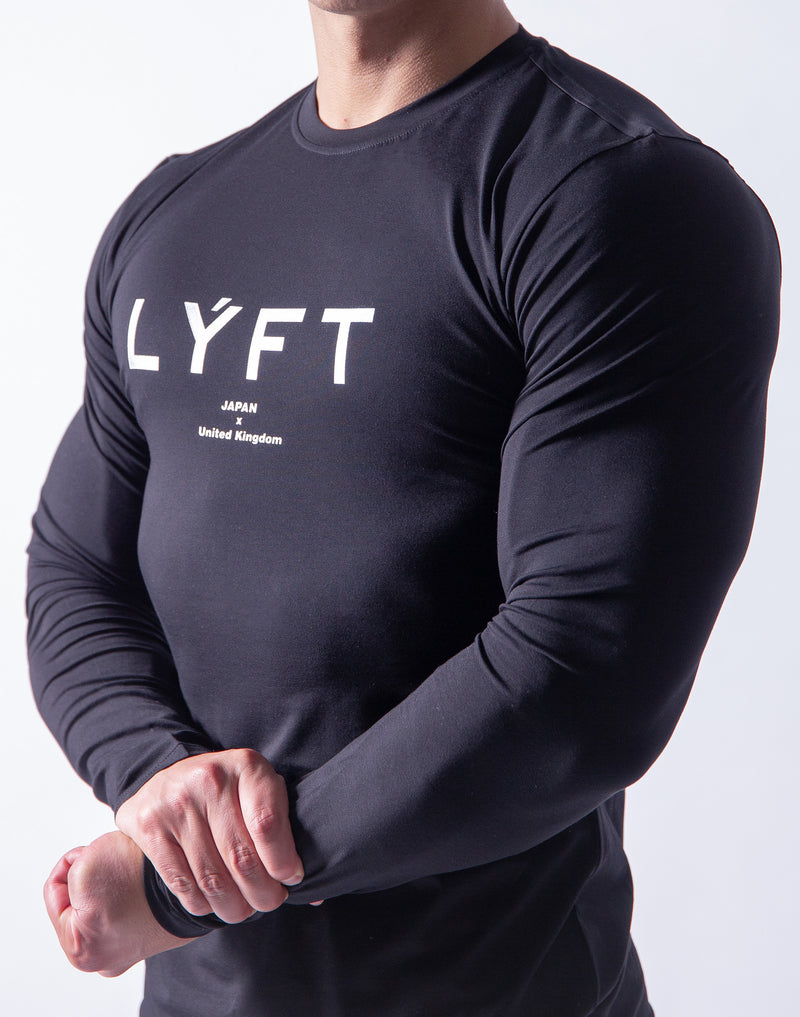 LÝFT Fit Long Sleeve - Black