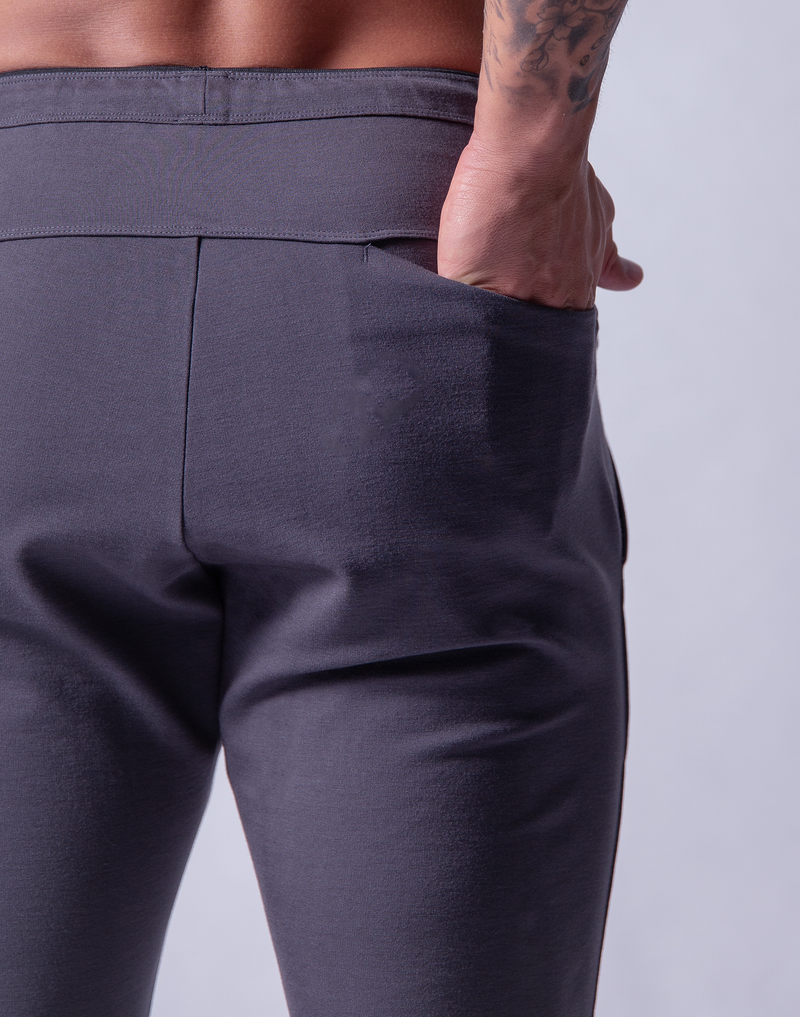 Calf Ý 2way Classic Pants - Grey