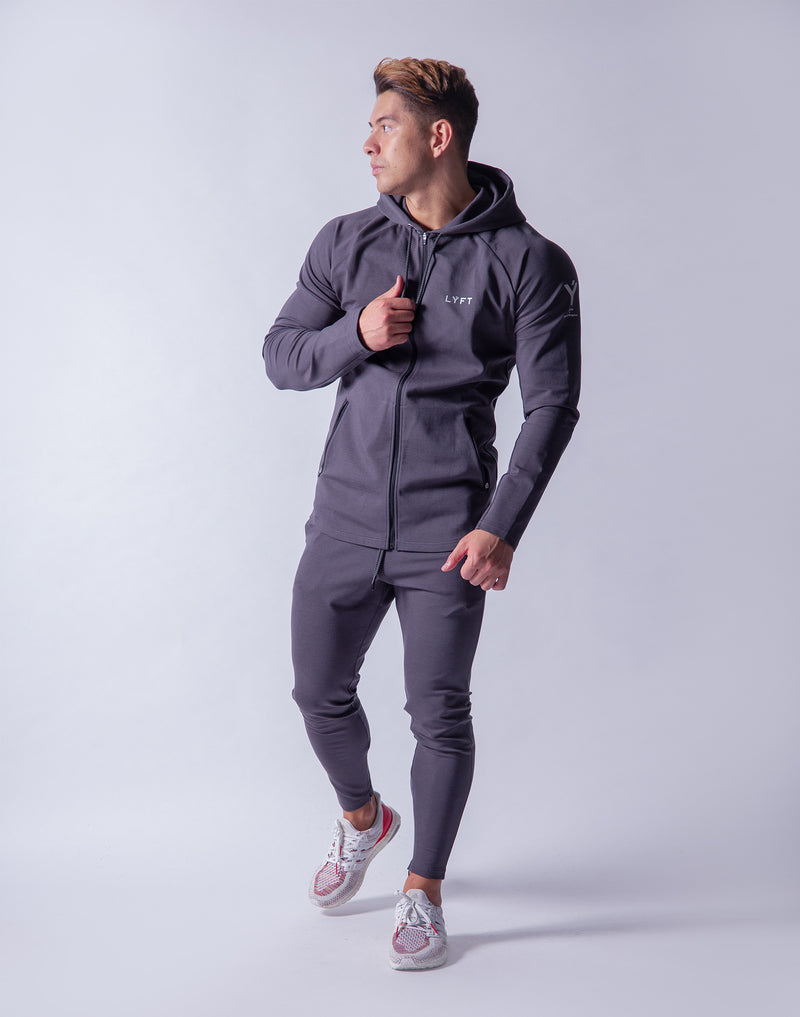 Ý 2way Workout Zip up Wear - Grey