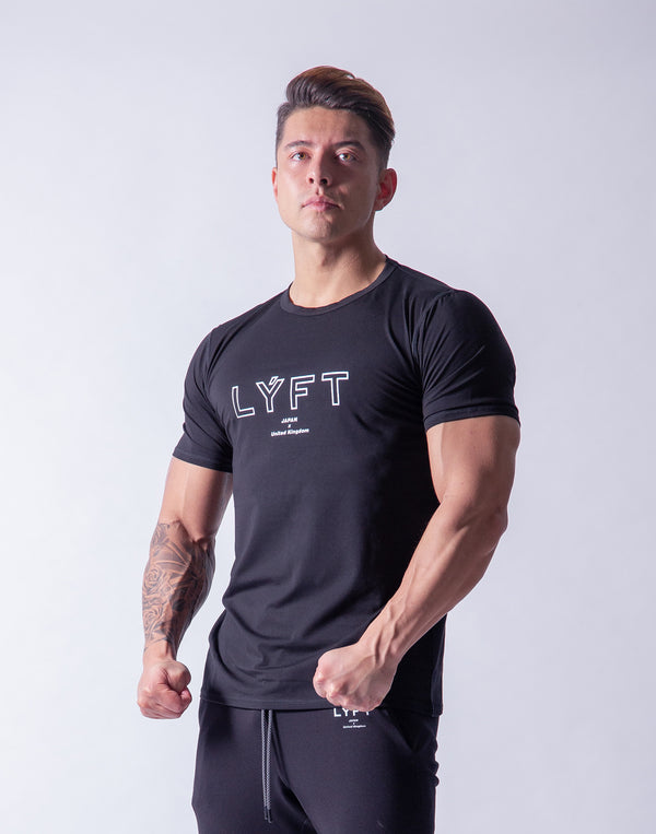 LÝFT Standard Fit T-Shirt 2 - Black