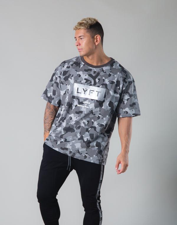 Original Camo Big T-shirts - Black