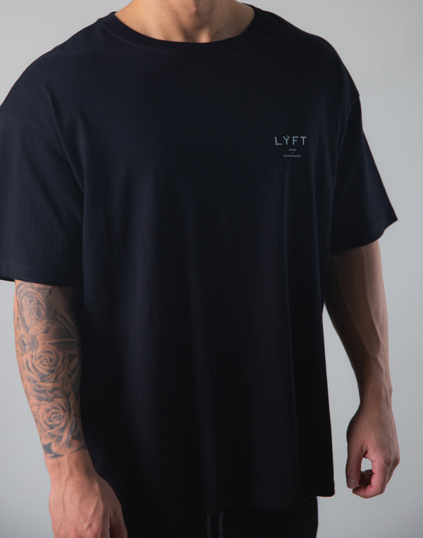 Back Big Y Logo Big T-shirts - Black