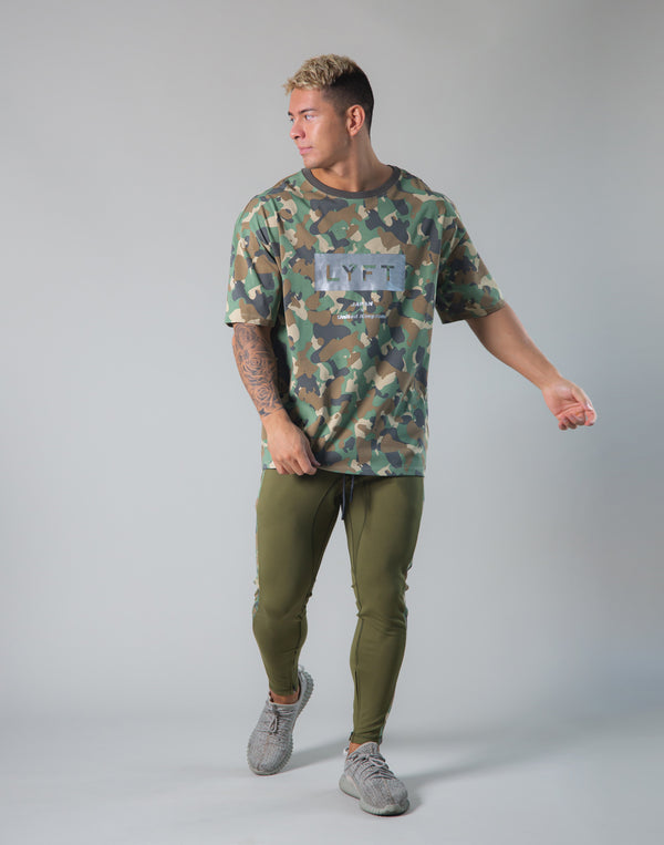 Original Camo Big T-shirts - Olive