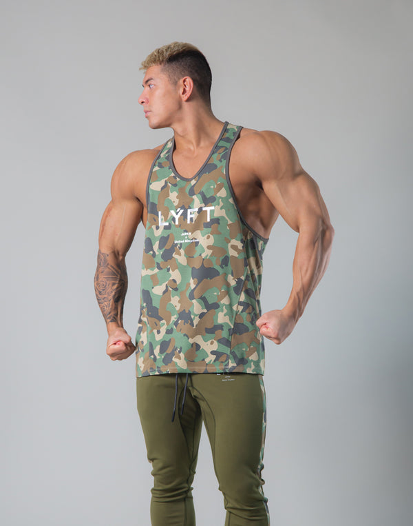 Original Camo Training Tanktop - Olive