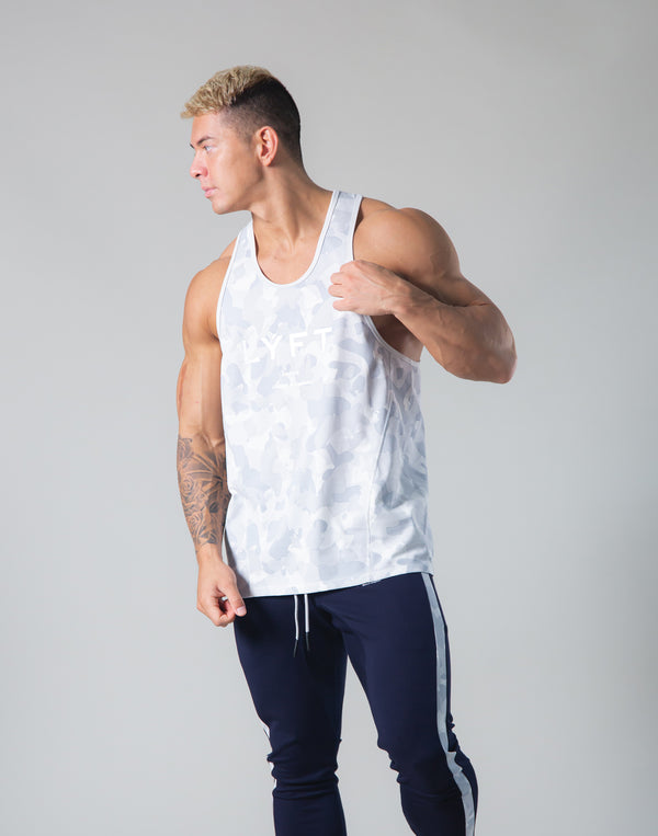 Original Camo Training Tanktop - White