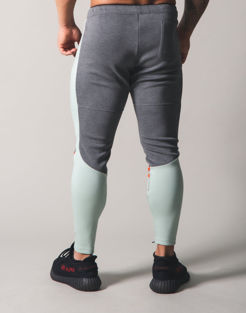 LYFT 2Way Stretch Separate Pants - Grey x Mint