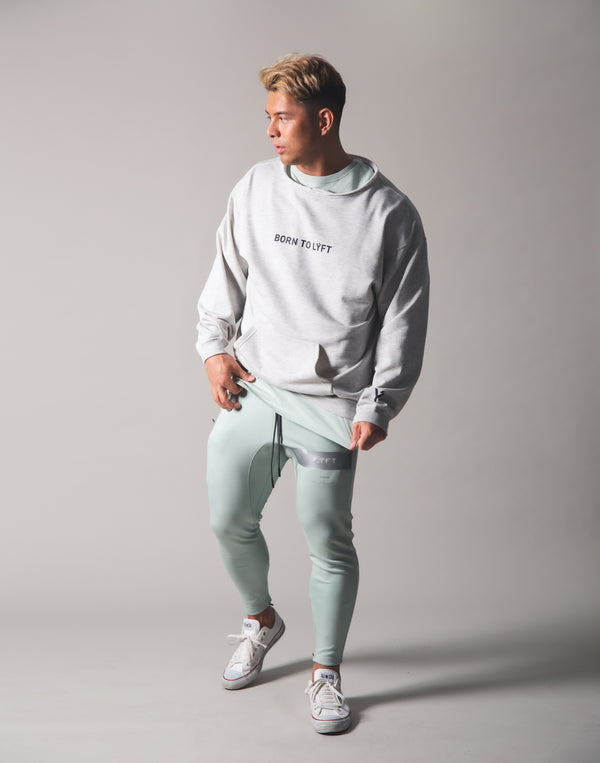 Cut off Sweat Pullover - Grey