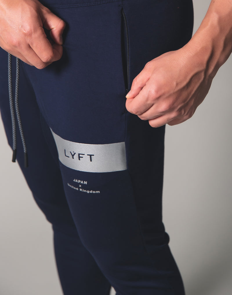 LÝFT 2Way Stretch Utility Pants ver.Silver Line - Navy