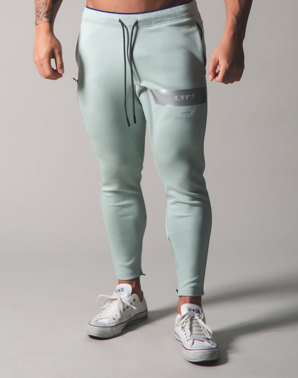 LÝFT 2Way Stretch Utility Pants ver.Silver Line - Mint