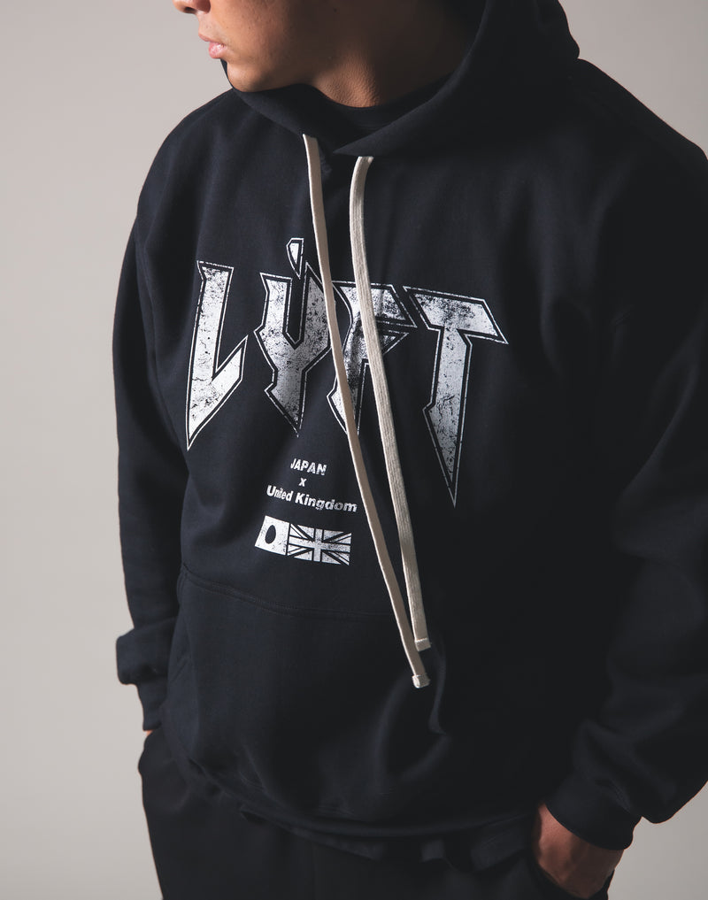 LÝFT London Punk Sweat Pullover - Black