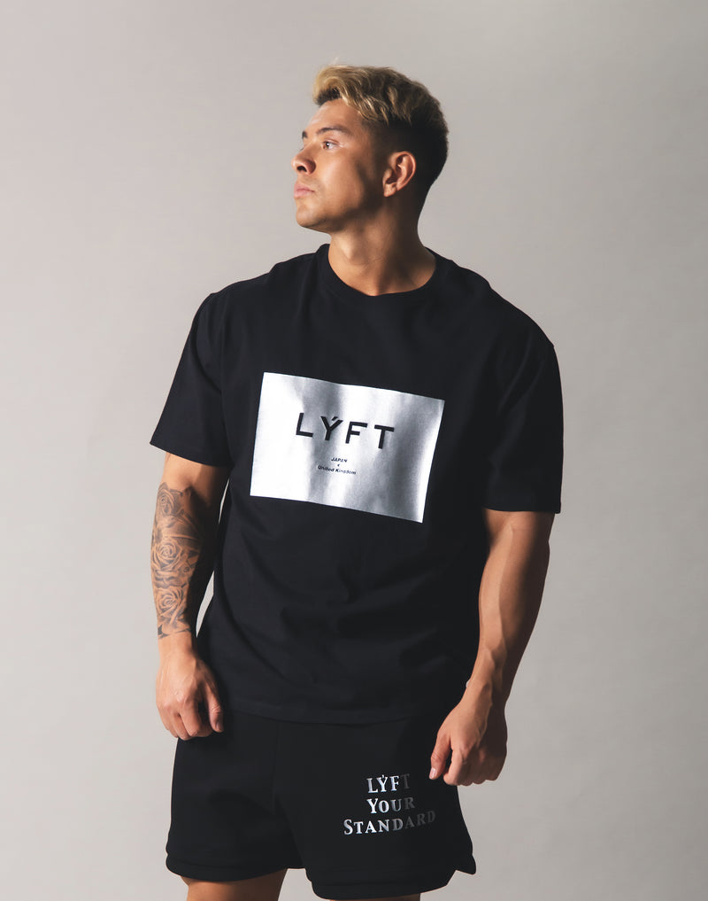 LYFT Box Logo Big T-Shirt - Black