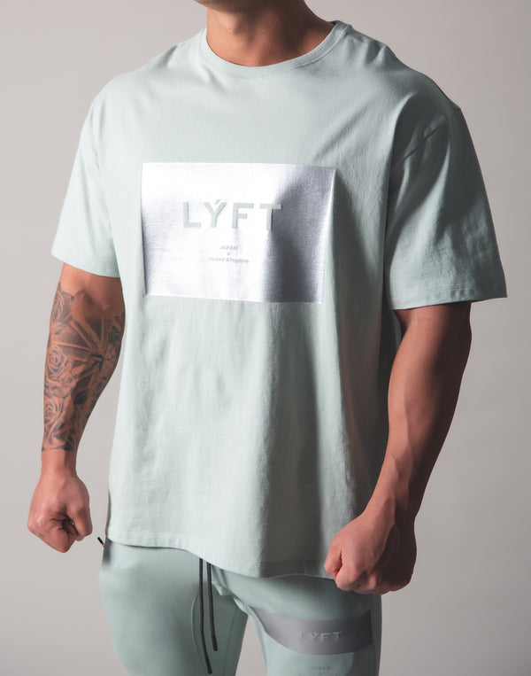 LYFT Box Logo Big T-Shirt - Mint