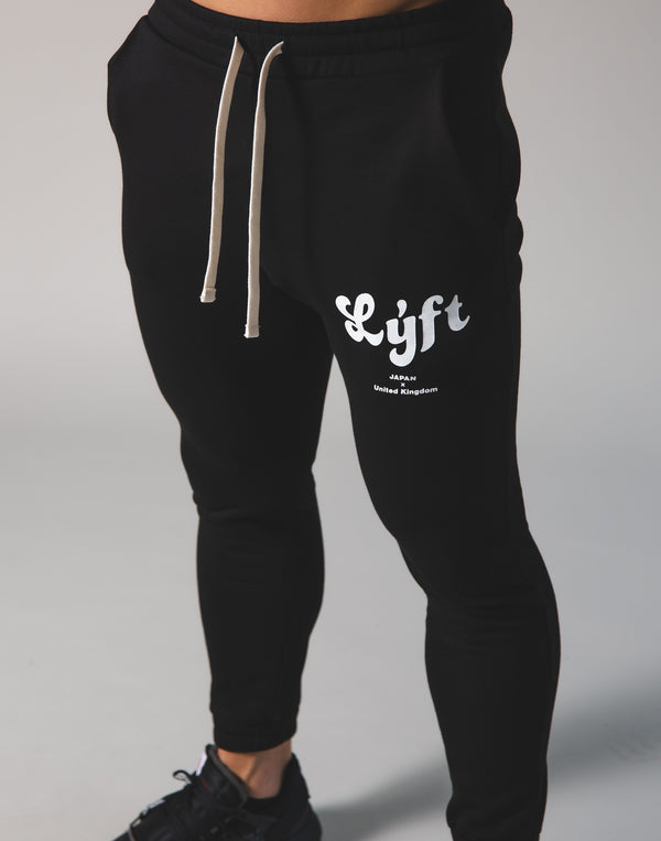 LÝFT Old Logo Sweat Pants - Black