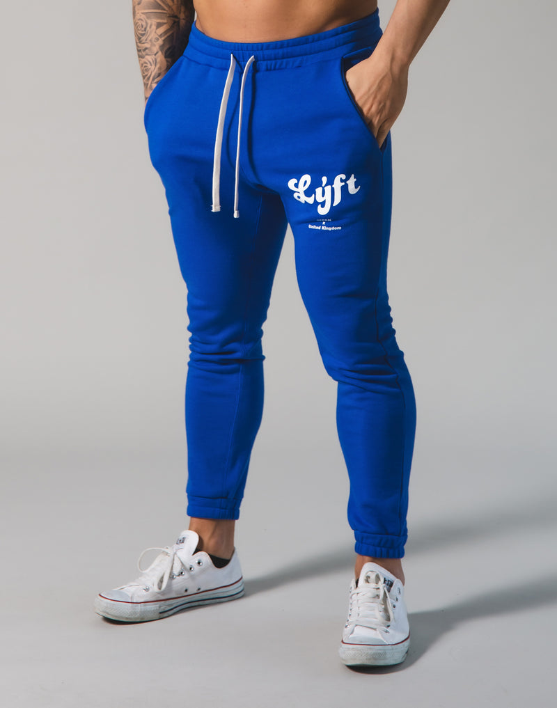 LÝFT Old Logo Sweat Pants - Blue