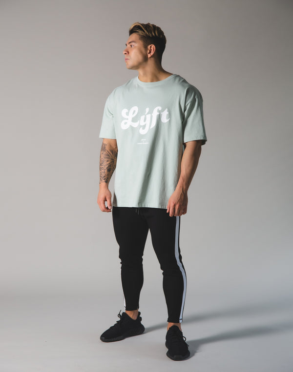 LÝFT Old Logo Big T-shirt - Mint