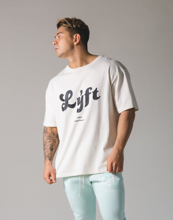 LÝFT Old Logo Big T-shirt - Off White
