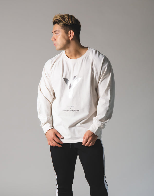 Ý Logo Long T-Shirt - Off White