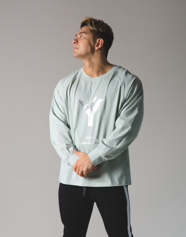 Ý Logo Long T-Shirt - Mint